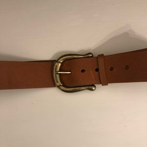 MICHAEL KORS Genuine Leather Belt